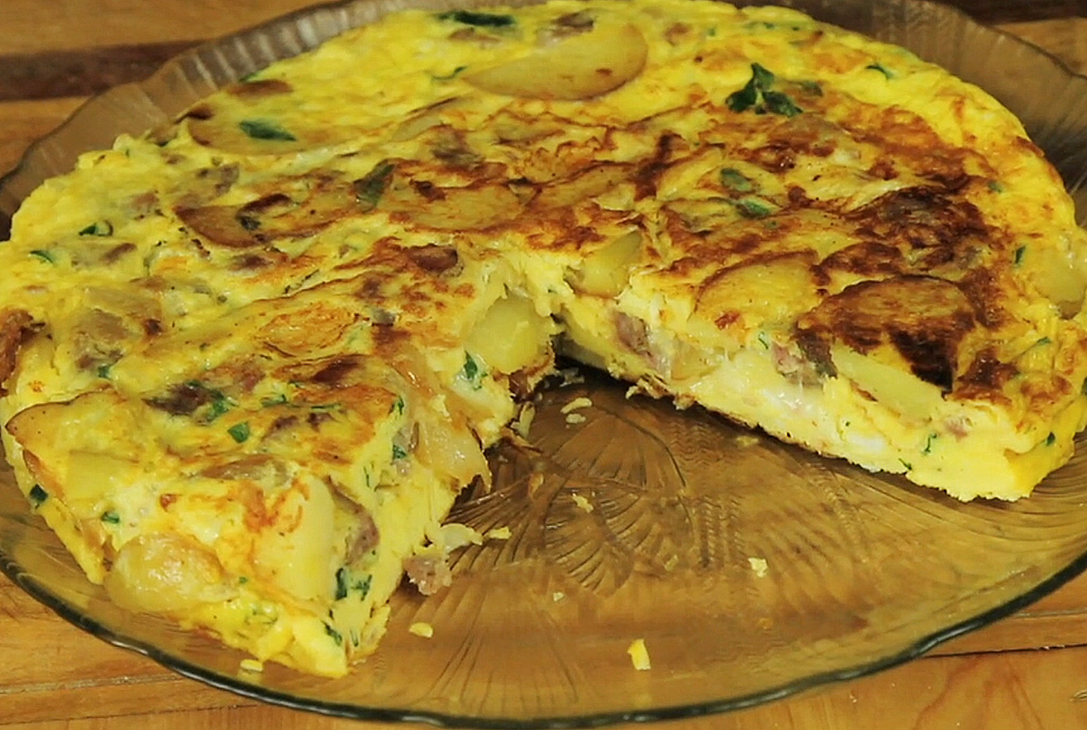 Frittata: Italian Egg, Sausage and Potato Pie | Gianni's North Beach