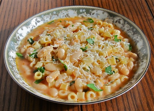 Pasta e Fagioli (Pasta Fazool/Pasta & Beans) | Gianni's North Beach