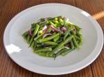 Green Bean & Red Onion Salad