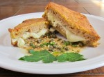 Mozzarella in Carozza Italian grilled cheese