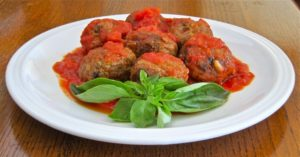 Meatballs from Napoli