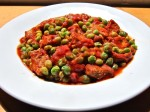 A Neapolitan classic, veal with sweet spring peas