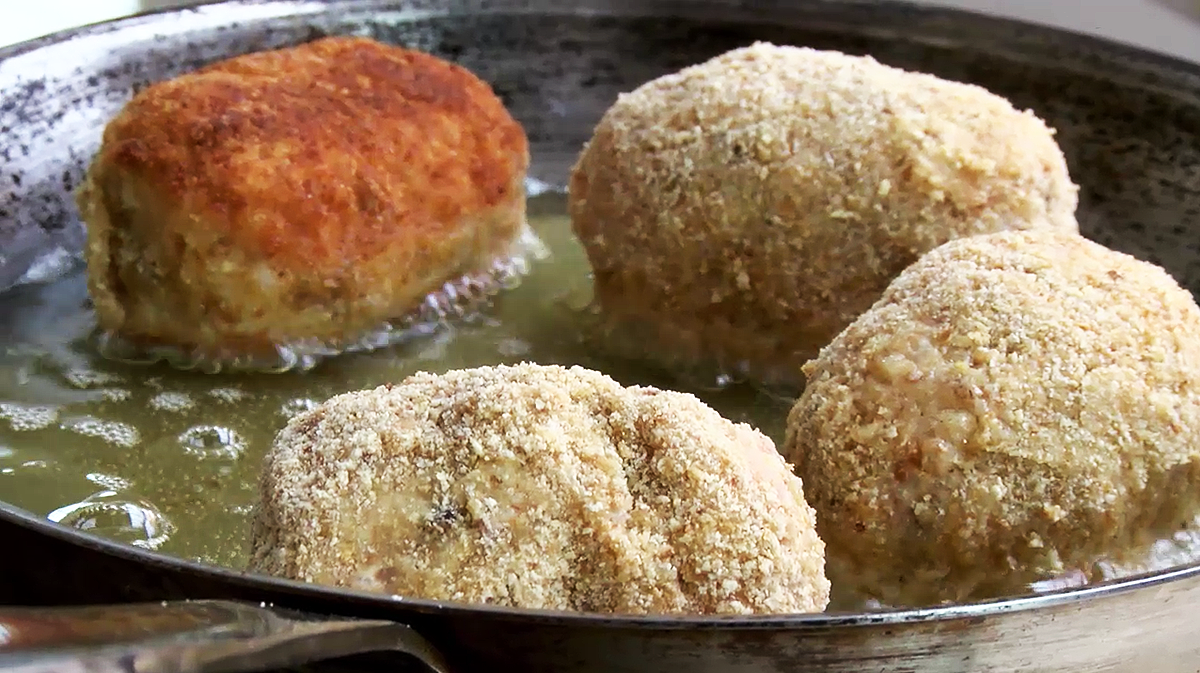 Rice Croquettes (Suppli Al Telefono) Recipe — Dishmaps