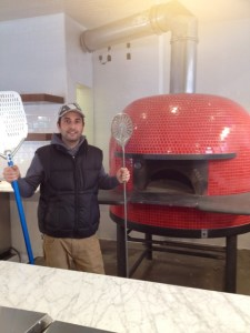 Francesco Cavutti and Il Casaro's beehive oven