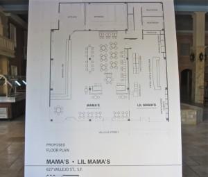 Mama's restaurant plans
