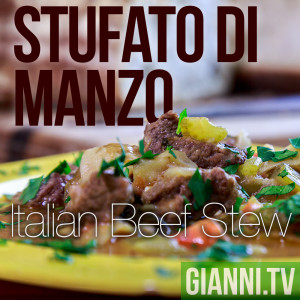Stufato di Manzo is perfect for cold winter nights.