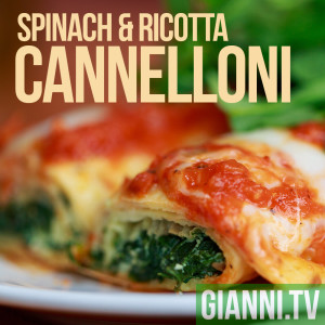 Spinach and ricotta cannelloni will take you to my childhood in Northern Jersey.