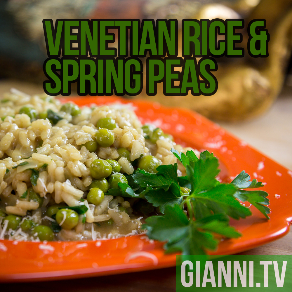 Risi e Bisi: Venetian Rice & Spring Peas | Gianni's North Beach