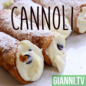 Homemade cannoli are easy to make and even easier to eat.