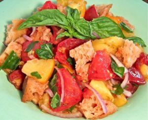 Panzanella: Summer Tomato & Bread Salad